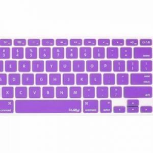 Miếng lót bàn phím in chữ Skin Keyboard Macbook Retina 12 Inch Tím