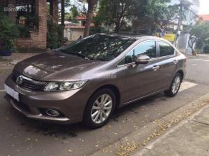 Bán xe HONDA Civic 2014, màu nâu nội thất kem, máy 1.8AT, xe đẹp và được bảo dưỡng định kì tại hãng
