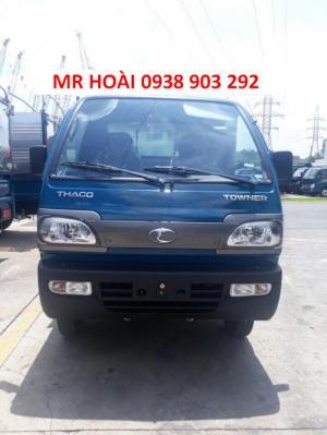 Xe tải Thaco Towner800 thùng mui bạt 900kg, giá tốt nhất,