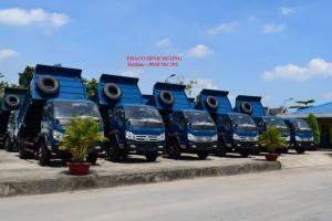 Xe ben Thaco Forland FLD490C 5 tấn, thùng ben 4,1 khối, bán trả góp, liên hệ 0914159099