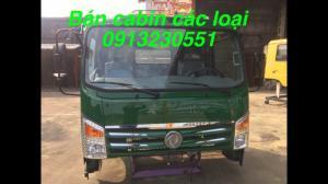 Bán đầu cabin xe tải ben Việt trung, veam, hoa mai, cửu long, trường giang, Việt trung, dongfeng, vinaxuki, jac