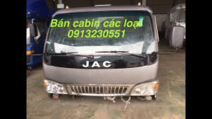 Bán đầu cabin xe tải jac, hino, thaco forland , veam, jac, camc
