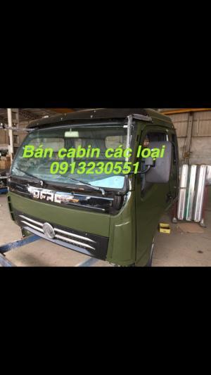 Bán đầu cabin xe tải cửu long, trường giang, Việt trung, jac, hino, thaco forland , veam, jac, camc