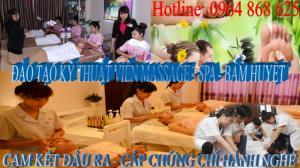 Khóa học massage bấm huyệt vật lý trị liệu