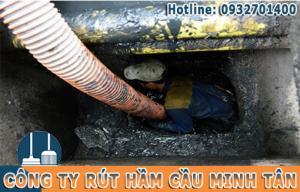 Rút hầm cầu ở TPHCM Giá bao nhiêu tiền