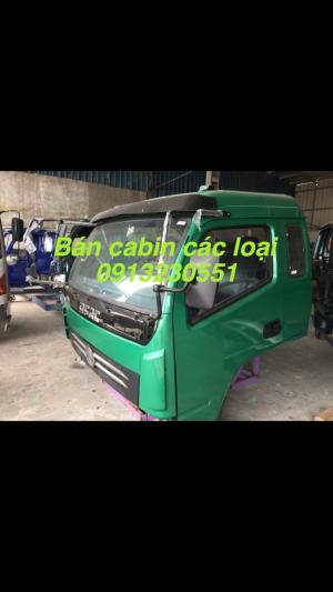 Bán đầu cabin xe tải cuu long, Việt trung, trường giang, kia, huyndai, isuzu, jac, camc, dayun,