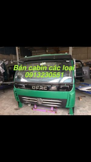 Bán đầu cabin xe trường giang, cuu long, Việt trung, dongfeng, jac, camc, vinaxuki,