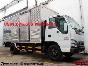 Giá Xe Isuzu 1,9 Tấn/ Xe Isuzu 1T9- Hỗ Trợ Vay 95% Lãi suất Ưu Đãi/ Đại Lý xe tải Miền nam