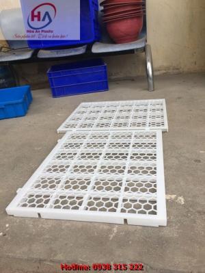 Tấm nhựa lót sàn chăn nuôi vịt, gà ngan ngỗng chất lượng tốt tiết kiệm chi phí