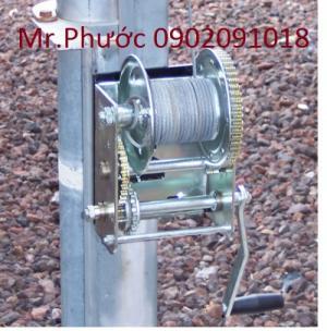 Tời điện 1 pha, tời điện 3 pha, tời kéo cáp điện, tời quay tay, tời điện mini, tời xây dựng, tời điện
