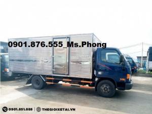Giá Xe Tải Hyundai 3T5 HD72 Tốt Nhất/Xe Hyundai 3T5 - Bán Trả Góp 90% Lãi Suất Ưu Đãi