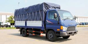Xe tải Hyundai HD65 hạ tải vào thành phố - Trả góp 90% trên toàn quốc