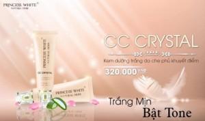 Kem dưỡng trắng da che khuyết điểm Cc Cream Crystal princess white