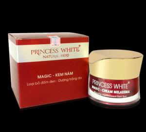 Kem trị nám sáng da  princess white