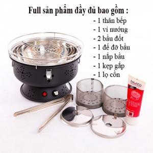 Bếp nướng than hoa có sạc Nam Hồng BN300, bếp nướng Việt Nam chất lượng cao