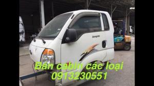 Bán đầu cabin xe kia, huyndai, jac, vinaxuki, cuu long, thaco, chenglong, Việt trung