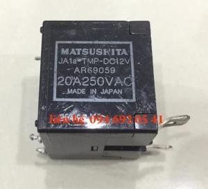 Rờ le MATSUSHITA JA1a - TMP-DC12V AR69059 20A250VAC