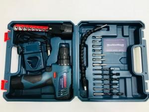 Máy Khoan Pin, Máy Vặn Vít Đa Năng OEM BOSHUN - TSR12 Công Suất 350W + Tặng Thêm 1 Pin - MSN388295