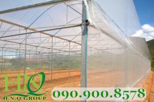 Lưới mùng, lưới chống côn trùng làm nhà lưới trồng rau