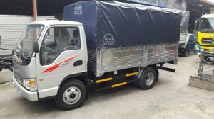 xe tải jac 2t4 / 2,4 tấn / 2.4 tấn / 2T4 / 2,4 Tấn thùng bạt giá rẻ hỗ trợ vay ngân hàng cao