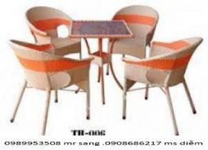 Bàn ghế cafe giá siêu rẻ hgh27