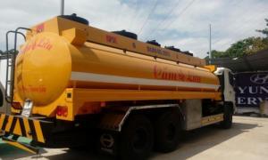 Xe bồn chở nhiên liệu giá thanh lý