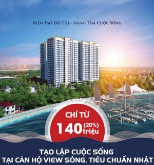 Sở Hữu Căn Hộ Resort Nghỉ Dưỡng Cửa Ngõ Khu Đông 3 Mặt View Sông