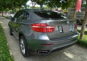 Bán xe BMW X6 3.0 full option 2008 đk 2009 màu xanh đá.