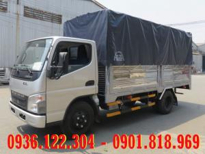Xe tải Fuso Canter thùng mui bạt