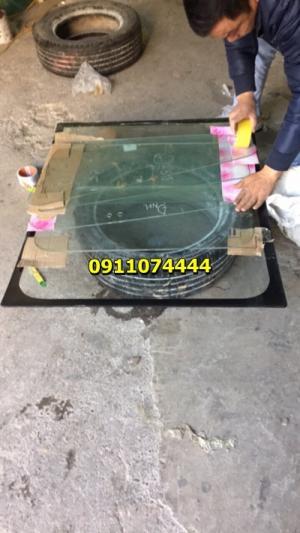 Kính bộ cabin máy xúc Doosan Solar 140w