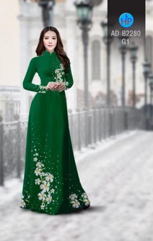 Vải áo dài Hoa Sứ AD B2280