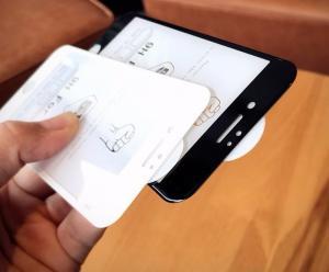 [Mới] Miếng dán 4D Full màn kính nổi iPhone 7 Temple Glass Trắng