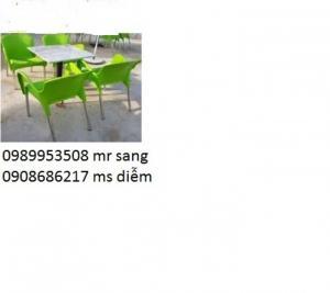 Chuyên sản xuất bàn ghế cafe giá rẻ hgh35