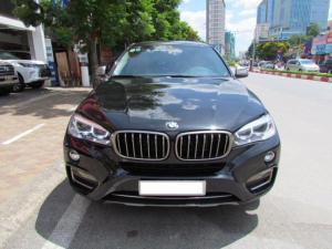 BMW X6 3.0 Xăng Sản xuất 2015, Đăng ký 2016, màu đen xe nhập khẩu