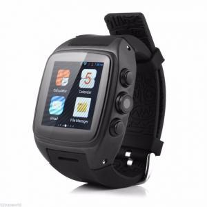 Đồng hồ thông minh gắn sim, 3G độc lập màn hình cảm ứng Đen