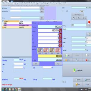 Cung cấp phần mềm quản lý doanh số thu chi bán hàng ( lắp đặt toàn quốc )