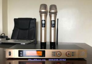 Mic dB Acoustic D10 dòng mic karaoke không dây NGON BỔ RẺ