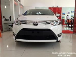 Khuyến Mãi Toyota Vios 2018, Giảm Tiền Mặt, Tặng Phụ Kiện, Giao Xe Ngay