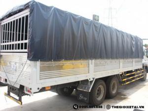 Bán Xe Fuso 15 Tấn 3 Chân Trả góp- Xe Fuso 3 chân 15 tấn Giá tốt- Đại Lý Fuso Sài Gòn