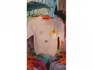 Áo len bé gái