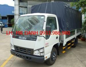 Bán xe tải 2,5 tấn giá rẻ Isuzu mui bạt tại sài gòn