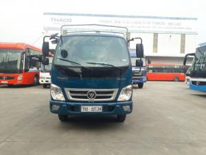 xe tải Thaco ollin360 thùng dài 4,3m vào thành phố. Tải trọng cho phép 2,2 tấn