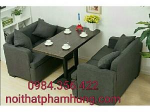 Bàn ghế sofa cafe thanh lý giá rẻ