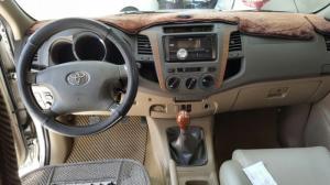 Bán Toyota Fortuner G 2.5MT số sàn máy dầu màu bạc sản xuất 2009