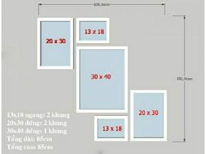 Khung Ảnh Bộ 850×850