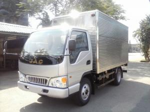 Bán xe tải Jac 2 tan 4 hfc1030k4 thùng mui bạt dài 3 met 7