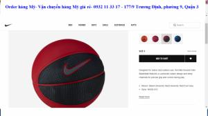 Bóng rổ Hiệu Nike