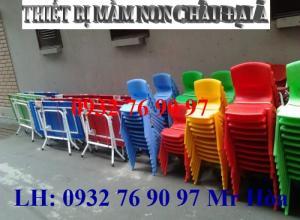 Ghế nhựa mầm non đúc cao cấp dành cho bé giá bán lẻ như giá sĩ