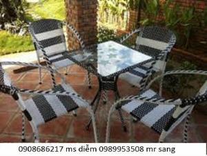 Chuyên sản xuất bàn ghế cà phê