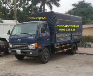 Hyundai Hd120sl Thùng Dài 6m2, Thông Số Hyundai Hd120sl Thùng Bạt
